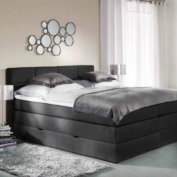 boxspringbett greta in dunkelgrau online kaufen m max. Black Bedroom Furniture Sets. Home Design Ideas