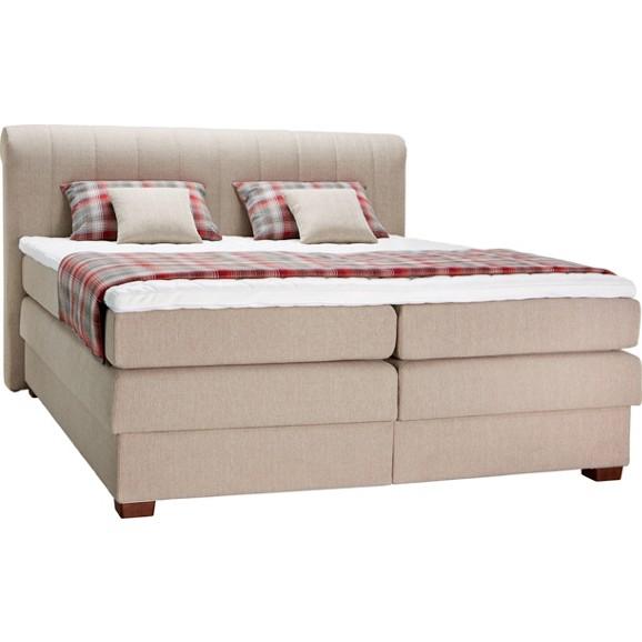 boxspringbett in creme ca 180x200cm online kaufen m max. Black Bedroom Furniture Sets. Home Design Ideas