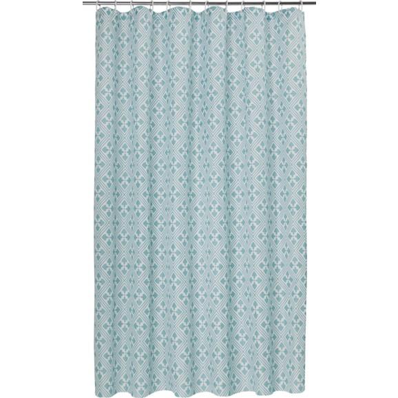 duschvorhang spain in t rkis ca 180x200cm online kaufen m max. Black Bedroom Furniture Sets. Home Design Ideas