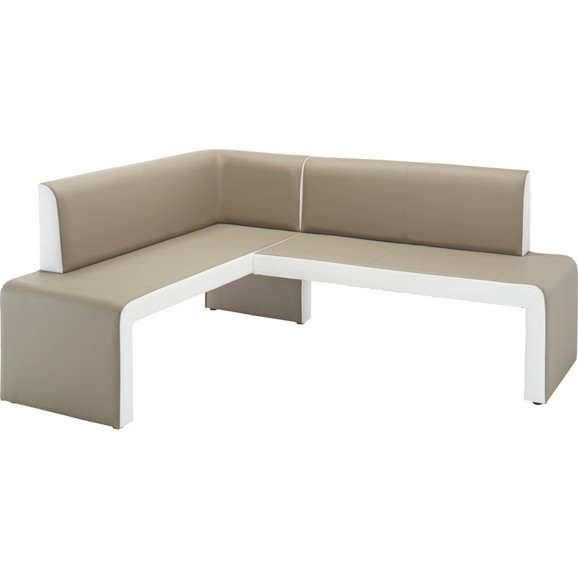 eckbankgruppe wei modern. Black Bedroom Furniture Sets. Home Design Ideas