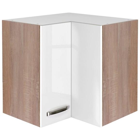 eckoberschrank venezia valero in wei eiche online kaufen m max. Black Bedroom Furniture Sets. Home Design Ideas