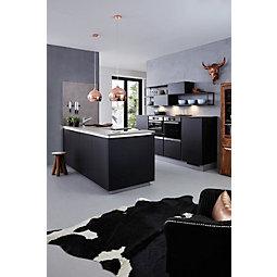 einbauk chen schwarz. Black Bedroom Furniture Sets. Home Design Ideas