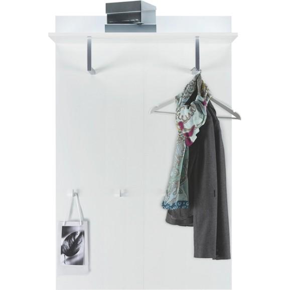 Garderobenpaneel in wei hochglanz online kaufen m max for Garderobenpaneel modern