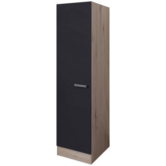 geschirrschrank in anthrazit eiche online kaufen m max. Black Bedroom Furniture Sets. Home Design Ideas