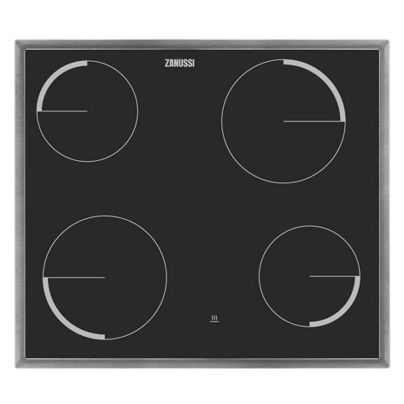 glaskeramikkochfeld zanussi zev6040xba 4 kochzonen online. Black Bedroom Furniture Sets. Home Design Ideas