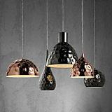 Hängeleuchte Alex - Silberfarben/Kupferfarben, KONVENTIONELL, Metall (110/68/120cm) - MODERN LIVING
