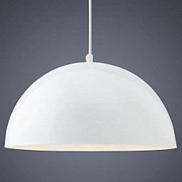 Hängeleuchte Aron - Weiß, MODERN, Metall (40/130cm) - MÖMAX modern living