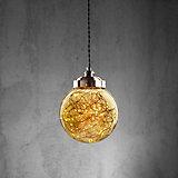 Hängeleuchte Constance - Champagner, MODERN, Glas/Metall (20/100cm) - MÖMAX modern living