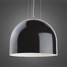 Hängeleuchte Emil - Schwarz, MODERN, Metall (40/45cm) - premium living
