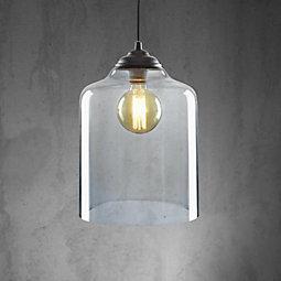 Hängeleuchte Estera - MODERN, Glas/Metall (24/120cm) - premium living