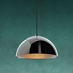 Hängeleuchte Jaden - Chromfarben, MODERN, Metall (40/120cm) - MODERN LIVING