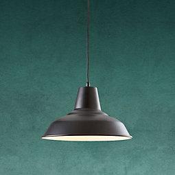 Hängeleuchte Leon - Schwarz, MODERN, Metall (29/125cm) - MODERN LIVING