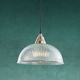 Hängeleuchte Muriel - Klar, MODERN, Glas/Metall (30/120cm) - MODERN LIVING