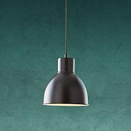 Hängeleuchte Nessaja - Schwarz, MODERN, Metall (21,5/130cm) - MODERN LIVING