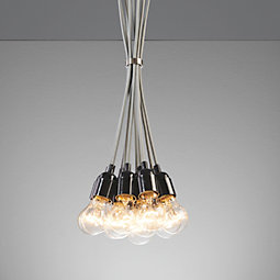 Hängeleuchte Padua - Grau, MODERN, Kunststoff (22/22/147cm) - MÖMAX modern living