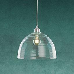 Hängeleuchte Silvana - MODERN, Glas/Metall (30/120cm) - MODERN LIVING