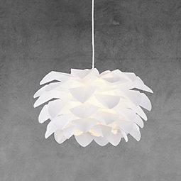 Hängeleuchte Tania - Weiß, MODERN, Kunststoff (52cm) - MODERN LIVING