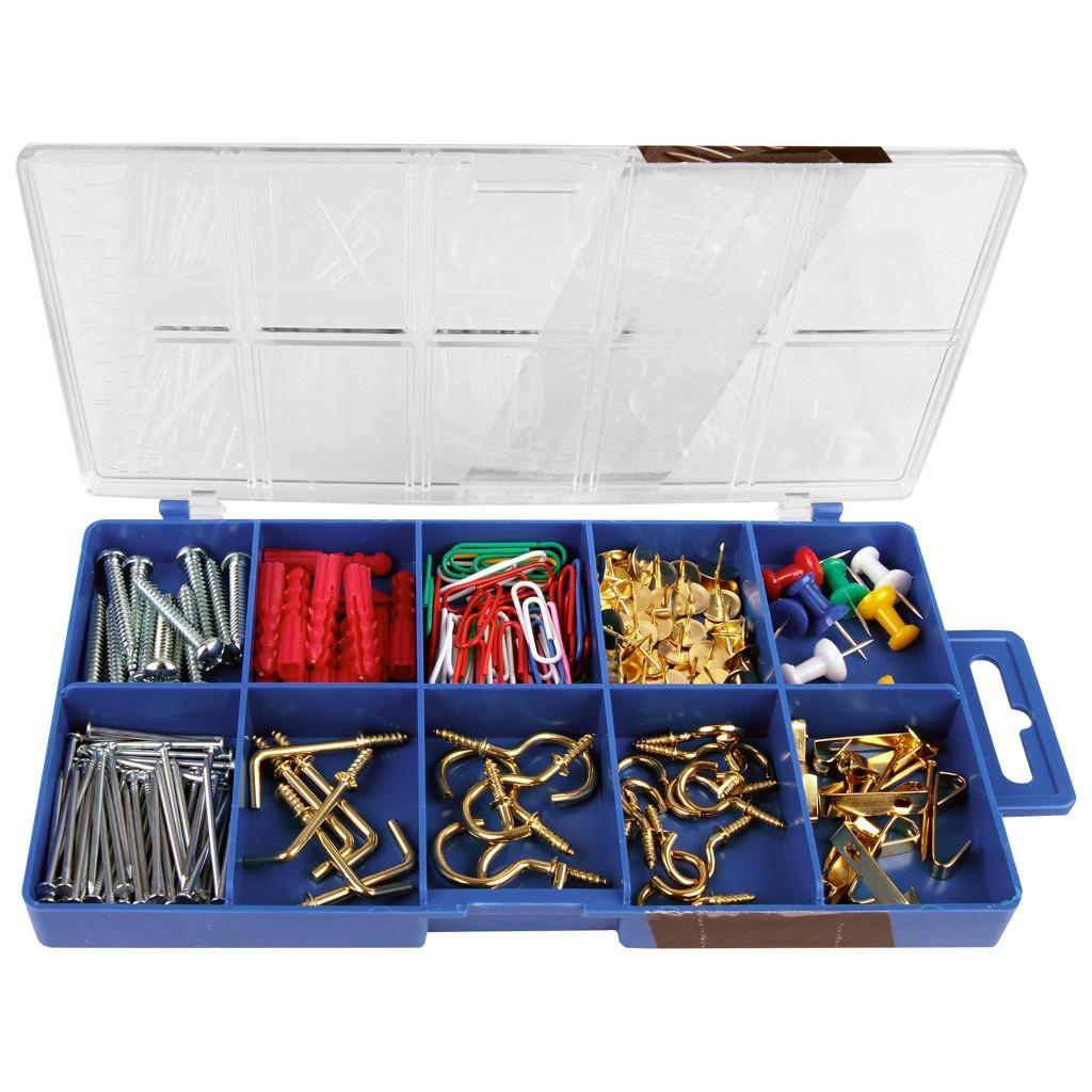 Haushaltssortiment 195-teilig In Kunststoffbox