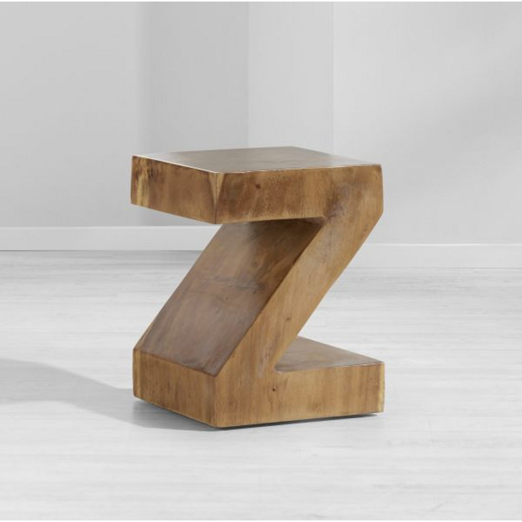 Hocker aus Holz In Z-form Tset