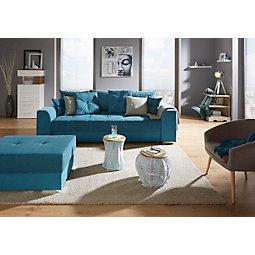 Sofa in Petrol online kaufen ➤ mömax | {Hocker modern kunststoff 38}
