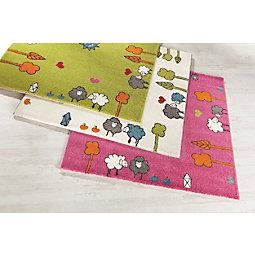 Kinderteppich grün rosa  Teppiche - Jetzt stöbern! | mömax