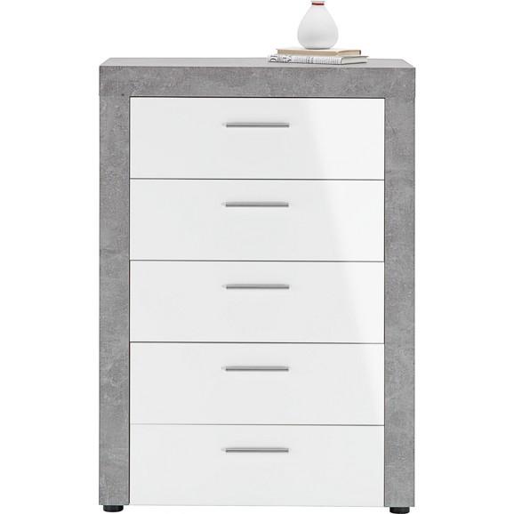 kommode in wei beton online kaufen m max. Black Bedroom Furniture Sets. Home Design Ideas