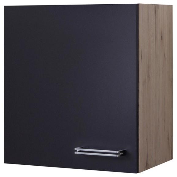k chenoberschrank in anthrazit eiche online kaufen m max. Black Bedroom Furniture Sets. Home Design Ideas