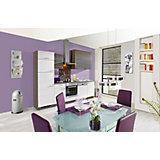 Kuhinjski Blok Plan - siva/bela, Trendi, leseni material (280cm) - EXPRESS