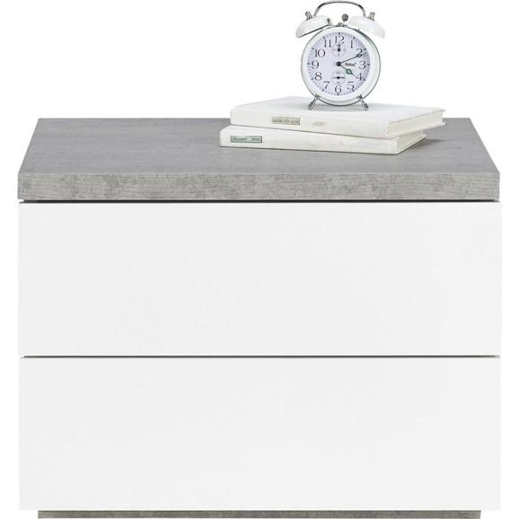 nachtk stchen in wei grau online kaufen m max. Black Bedroom Furniture Sets. Home Design Ideas