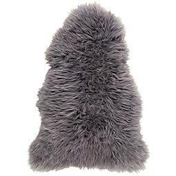 Ovčja Koža Jenny - siva, tekstil (90-105/60cm) - MÖMAX modern living