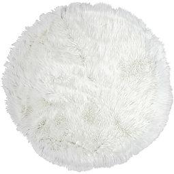 Ovčja Koža Teddy - bela, Romantika, tekstil (100cm) - MÖMAX modern living