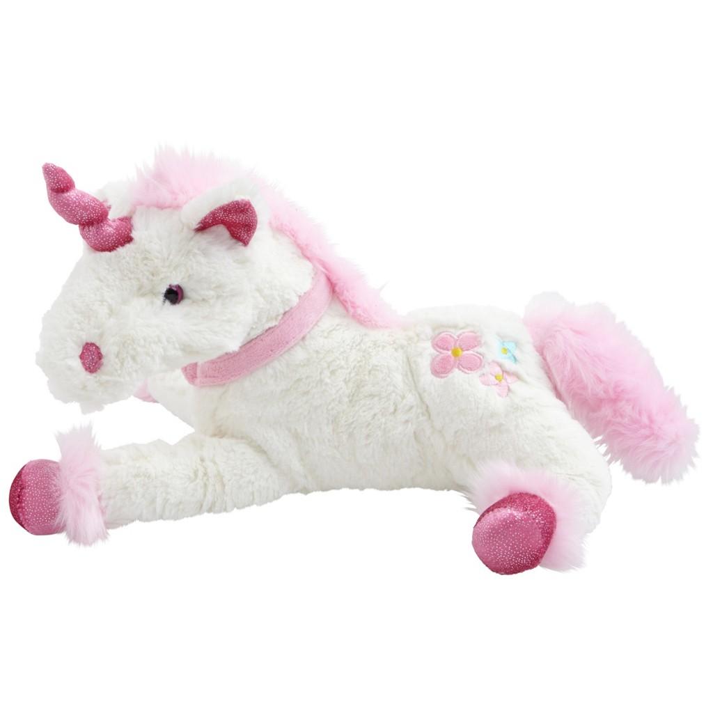 Plüschtier Feemi in Weiß/pink
