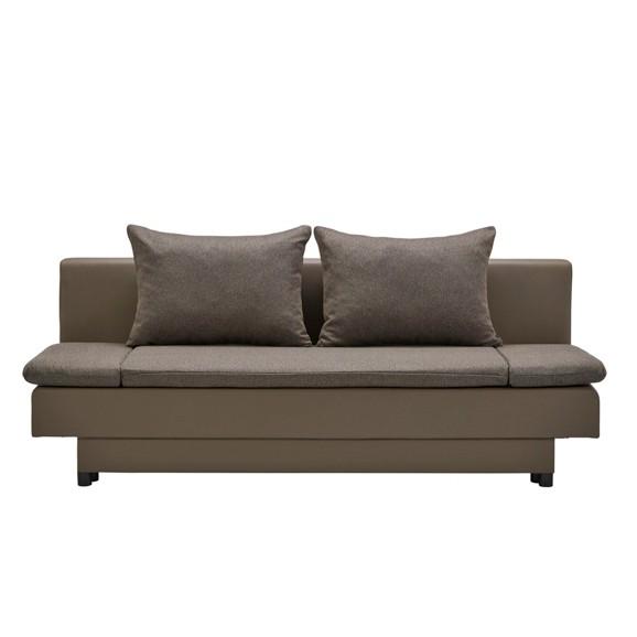 schlafsofa in braun online kaufen m max. Black Bedroom Furniture Sets. Home Design Ideas