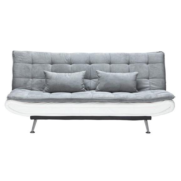 schlafsofa in grau mit schlaffunktion online kaufen m max. Black Bedroom Furniture Sets. Home Design Ideas