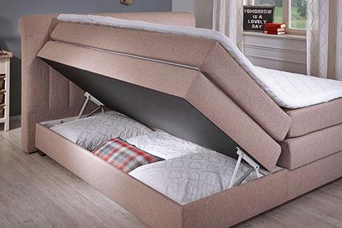 multifunktionsbett, elektrisch verstellbarer lattenrost uvm. mömax - Schlafzimmer Betten Mit Bettkasten