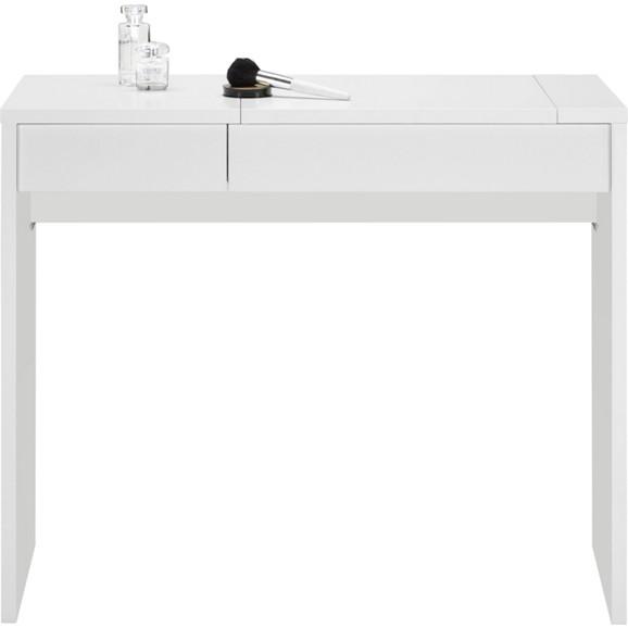 schminktisch in alpinwei mit spiegel online kaufen m max. Black Bedroom Furniture Sets. Home Design Ideas