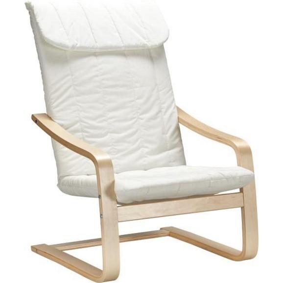 Schwingstuhl in natur aus baumwolle online kaufen m max for Schwingstuhl holz