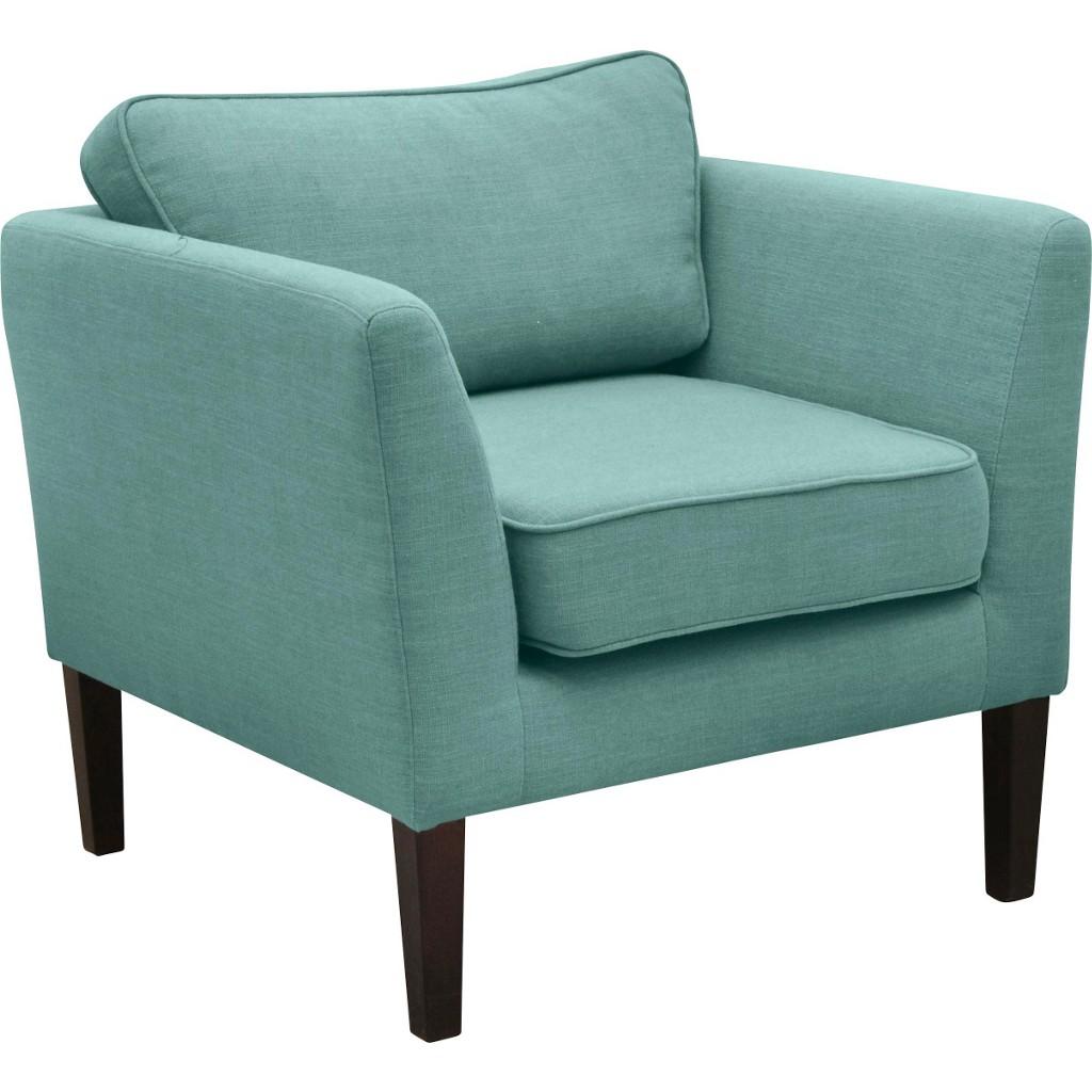 Sessel in Blau