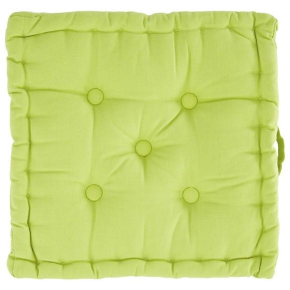 sitzkissen ninix in gr n ca 40x40x10cm online kaufen m max. Black Bedroom Furniture Sets. Home Design Ideas