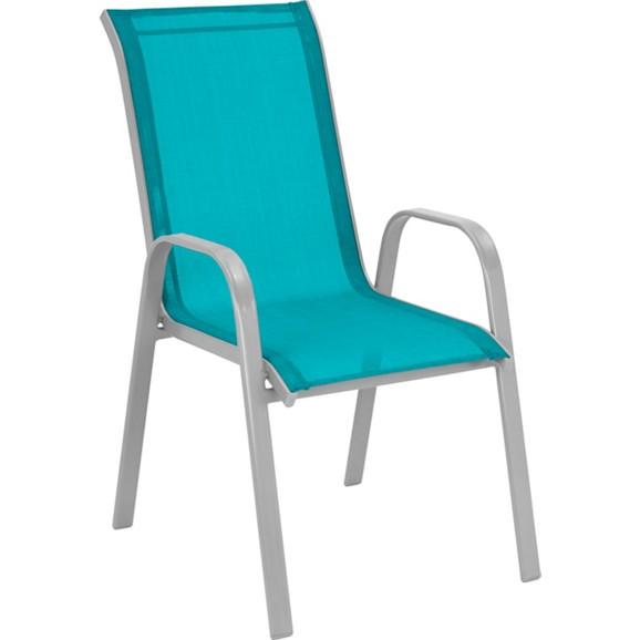 stapelsessel stitch in blau alufarben online kaufen m max. Black Bedroom Furniture Sets. Home Design Ideas