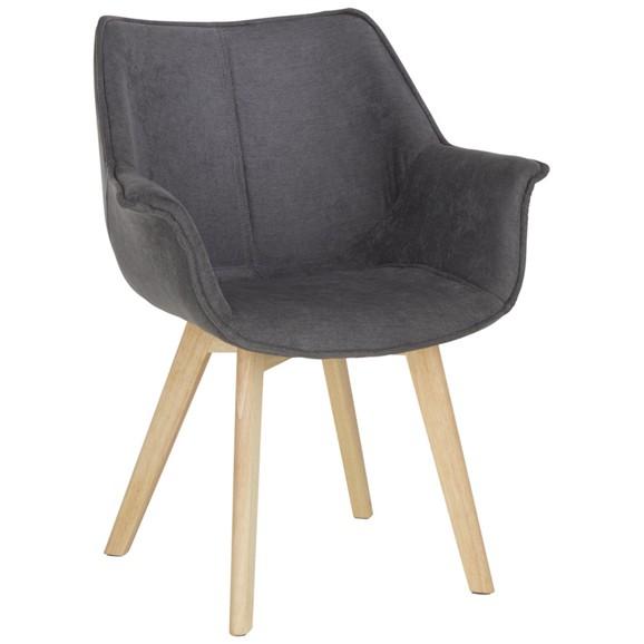 stuhl in anthrazit online kaufen m max. Black Bedroom Furniture Sets. Home Design Ideas