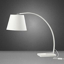 Tischleuchte Alexa - Weiß, MODERN, Kunststoff/Stein (80/30/70cm) - MÖMAX modern living