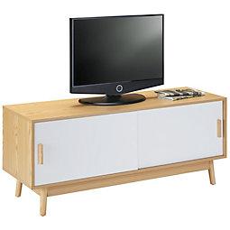 TV Element Aliona   Eschefarben/Naturfarben, MODERN, Holz/Holzwerkstoff (120
