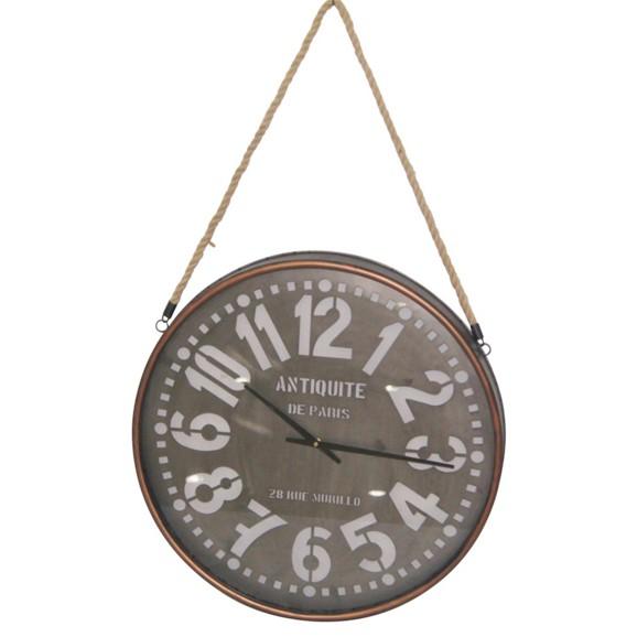 Uhr Yoko In Braun Ca 62x7cm