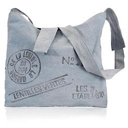 Umhängetasche Denim Jeans - Blau/Schwarz, Textil (40/48cm) - MÖMAX modern living
