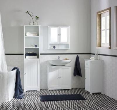 Badezimmer Unterschrank 90 Breit - Design