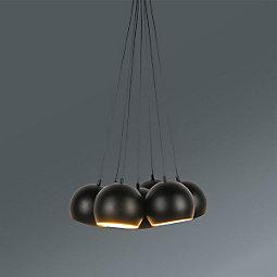 Viseča Svetilka Elvis -top- - črna, Trendi, kovina (45/45/113cm) - MÖMAX modern living
