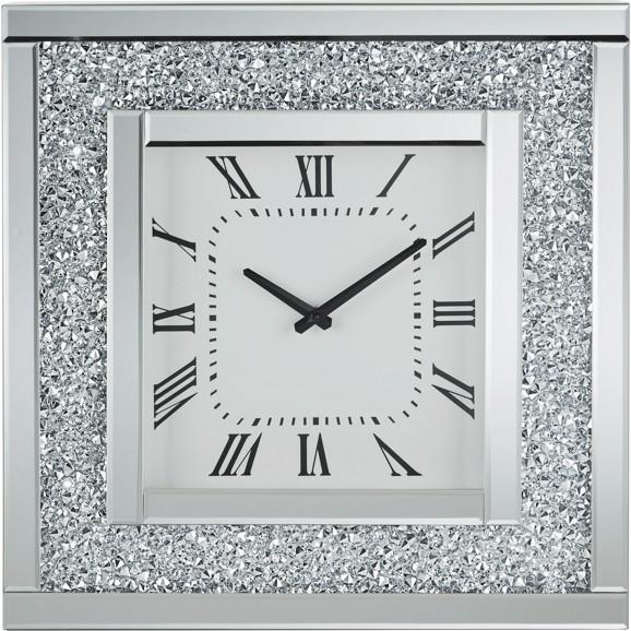 Wanduhr diamant ca 51x51x12cm online kaufen m max - Wanduhr holz modern ...