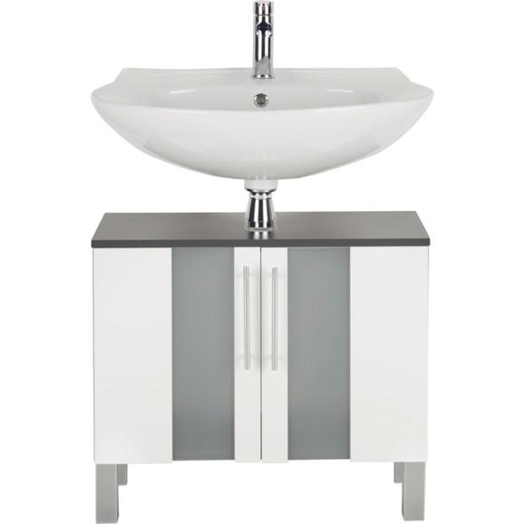 waschbeckenunterschrank in wei anthrazit online kaufen m max. Black Bedroom Furniture Sets. Home Design Ideas
