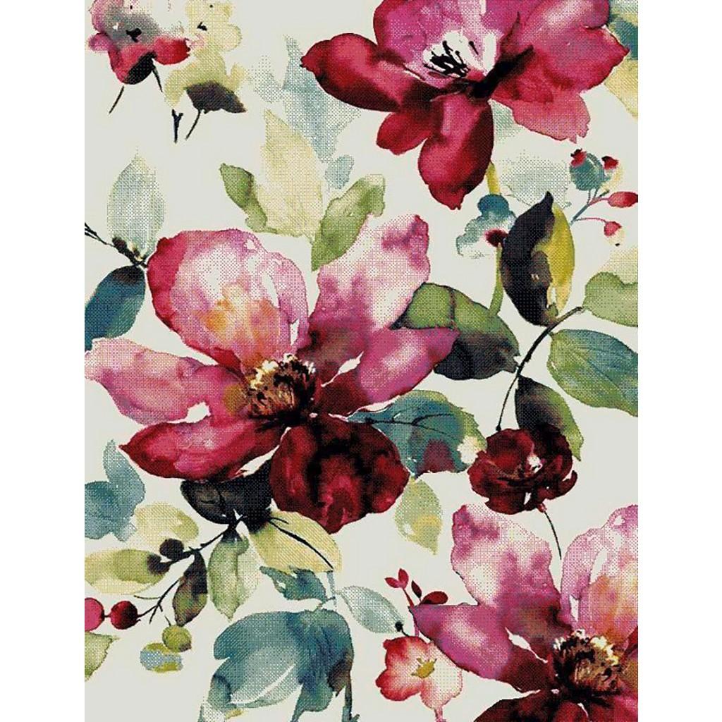 Webteppich Flower ca. 160x230cm